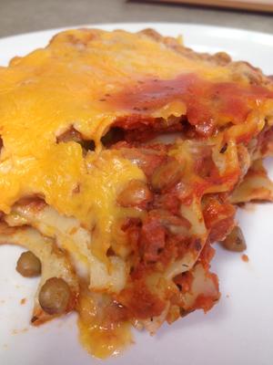 Lentil lasagna recipe